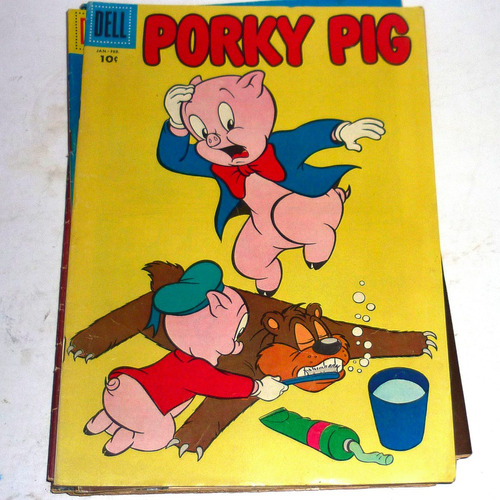 revistas porky pig inglés del 50 dell comic,buenas $ c/una