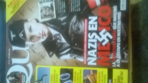revistas quo (paquete de 4) el libro negro del sexo,nazis.