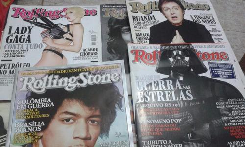 revistas rolling stones **lote 5 revistas