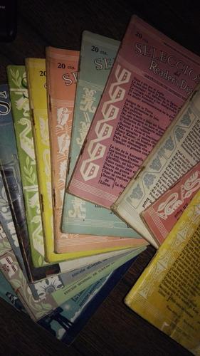 revistas selecciones reader`s digest año 1944 completo $2300