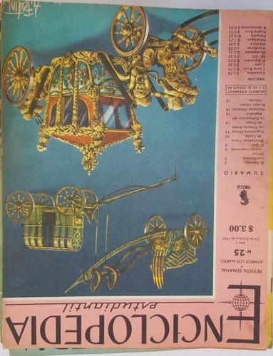 revistas semanal enciclopedia estudiantil 1961