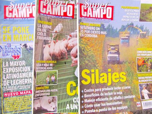 revistas super campo de la huerta a la estancia hay 33 nros