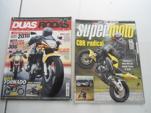 revistas super moto , duas rodas