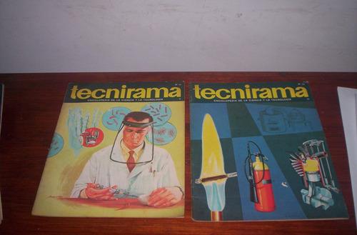 revistas tecnirama coleccionistas decada 60 lote 12