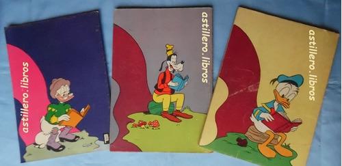 revistas tesoros de walt disney- números 3, 4 y 5.