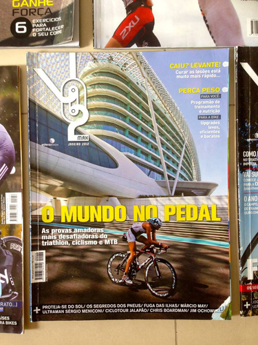 revistas trisport vo2 triathlon ciclismo 12x sem juros c428