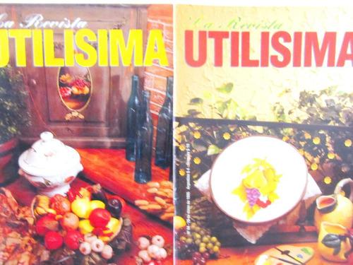 revistas utilisima tenemos 14 nros precio x cada
