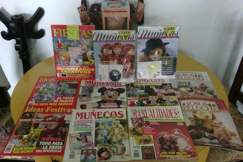 revistas variadas de manualidades