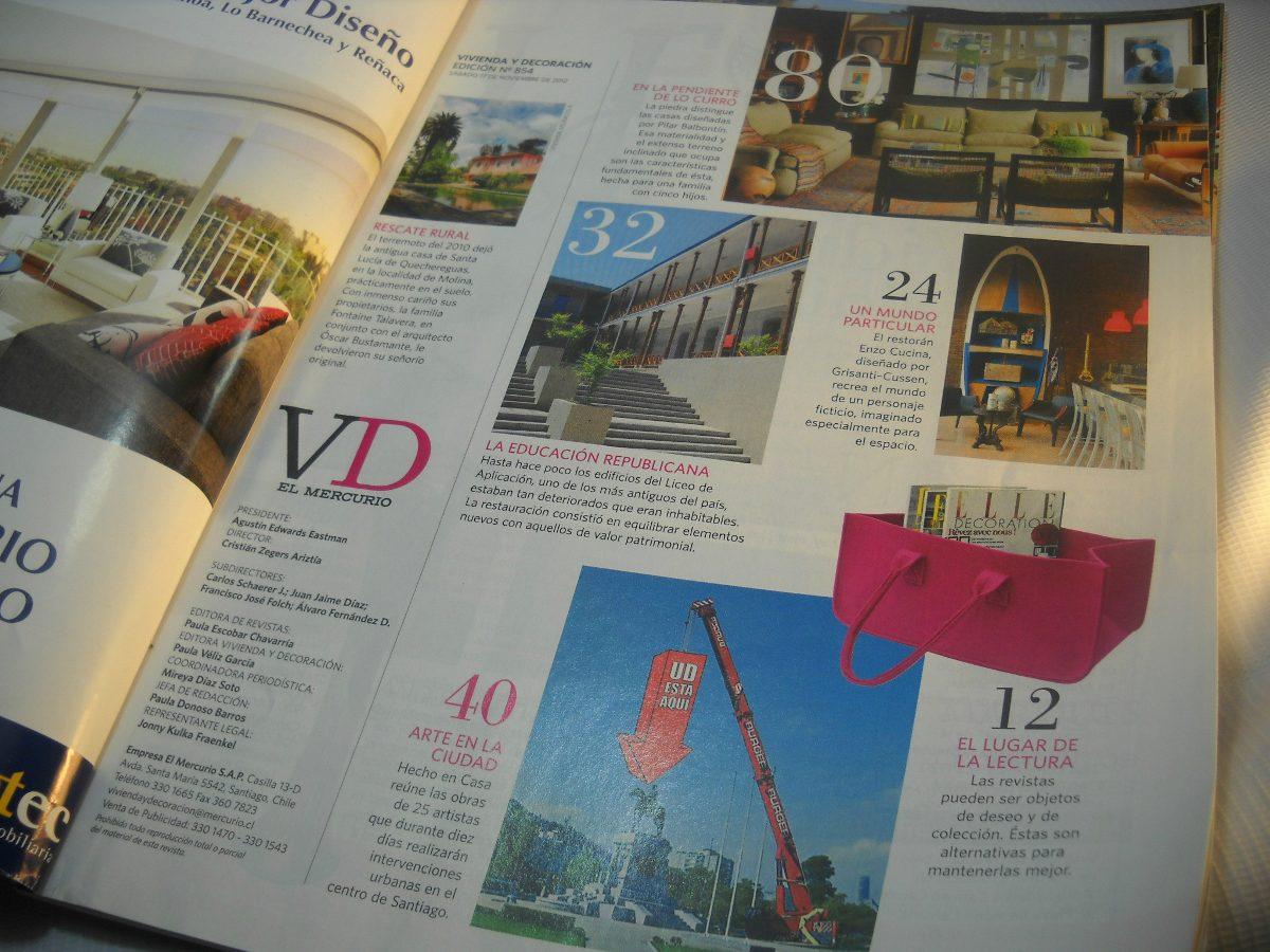 Revistas vivienda y decoracion el mercurio 2012 2 5 for Vivienda y decoracion