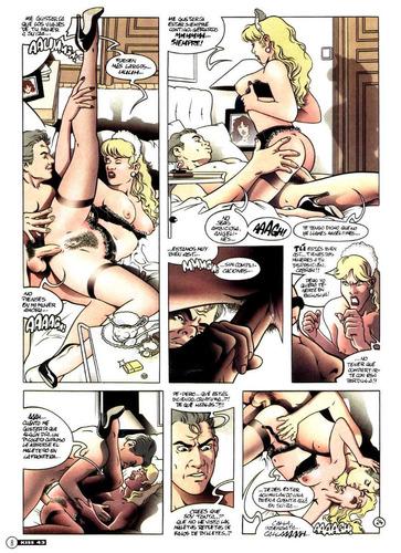 revistas xxx adultos coleccion kiss porno español $5 c/u.