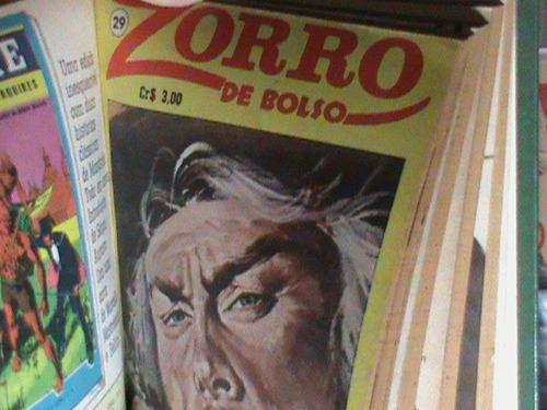 revistas -  zorro de bolso -  encadernadas (sem uso - novas)