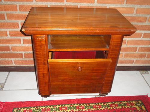 revisteiro de escritório em madeira antigo  bombe