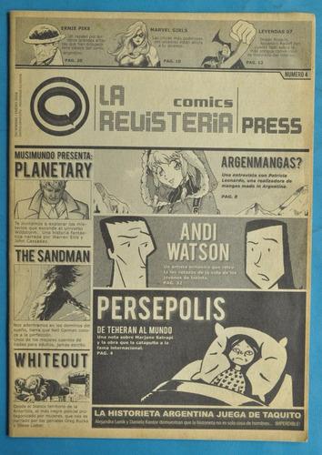 revisteria press n 4 comic 2008 ernie pike sandman marvel
