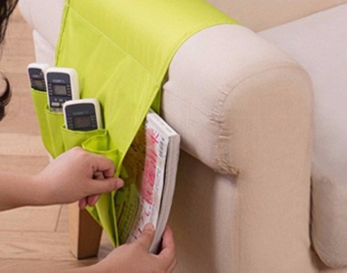 revistero organizador de sofa controles remoto