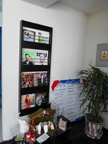 revistero - repisa porta revistas, muebles en melamina