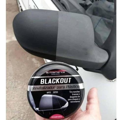 revitalizador de plástico blackout autoamerica - 150g