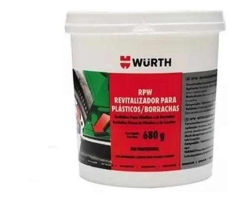 revitalizador de plásticos e borrachas rpw wurth 680g pote