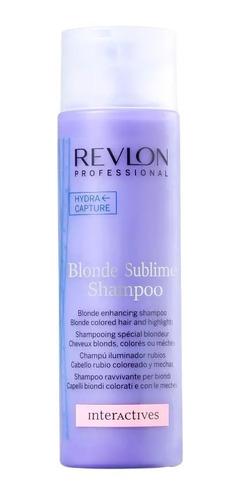revlon color sublime blonde - shampoo 250ml
