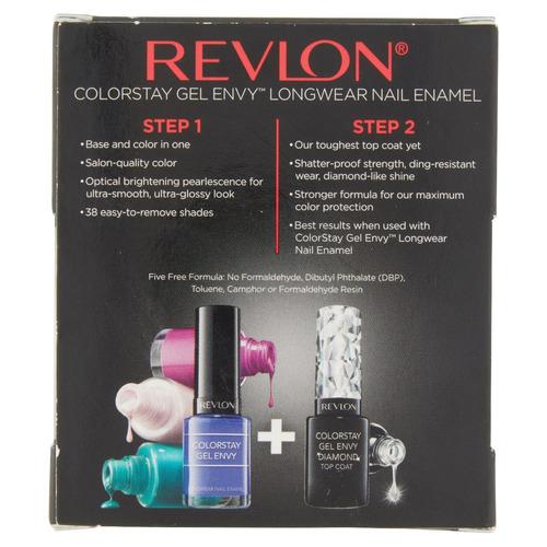 revlon colorstay gel envidia longwear uñas esmalte,.4 fl