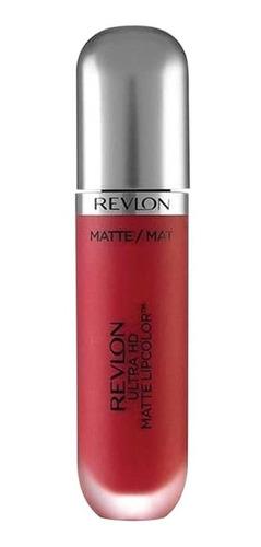 revlon labial ultra hd matte lipcolor maquillaje