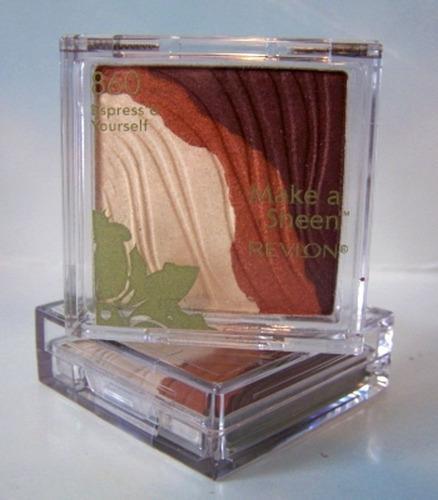 revlon make a sheen sombra/rubor camouflage tono 875