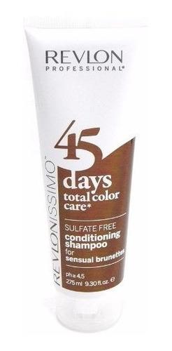 revlon revlonissimo shampoo cabellos teñidos castaño x 275ml