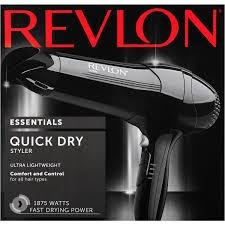 revlon secador de cabello de 1875 watts essentials styler.
