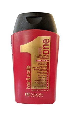 revlon uniq one shampoo hair & scalp 10 em 1 300ml