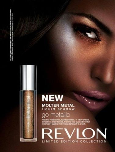 revlon usa sombra metalica limited edition ultimas e.gratis!