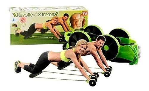 revoflex xtreme bandas elasticas ruedas ejercicio fitness