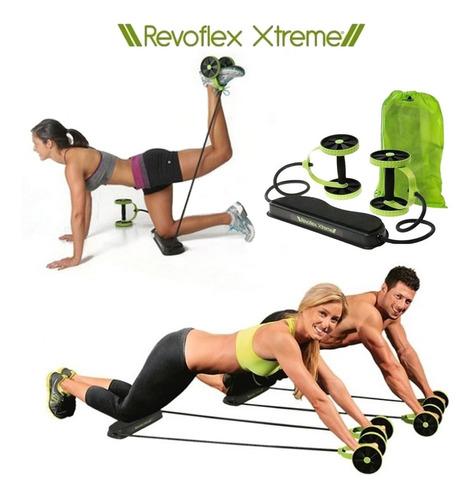 revoflex xtreme ejercicio fitness bandas elasticas ruedas