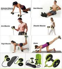 revoflex xtreme original tv ejercicio con accesorios