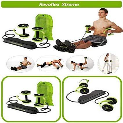 revoflex xtreme portatil rodillo abdominal bandas elasticas
