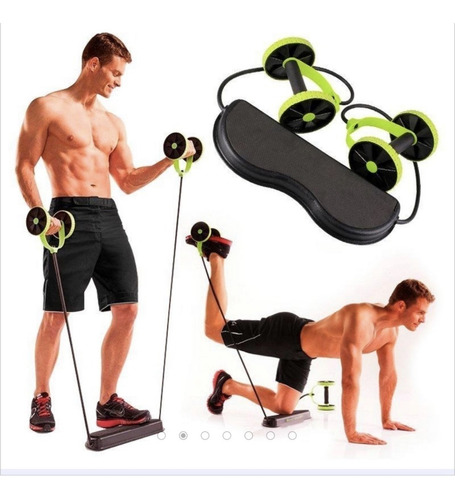 revoflex xtreme rueda abdominal multifuncional guia ejercici