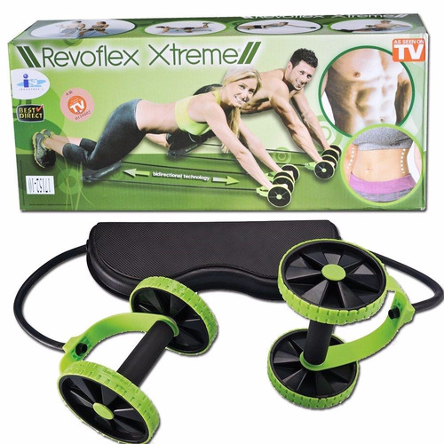 revoflex xtreme rueda para ejercicios multifuncional + envio