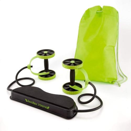 revoflex xtreme rueda para ejercicios multifuncional + envío