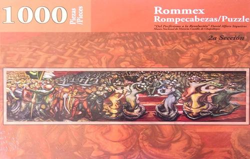 revolución 2 siqueiros rompecabezas 1000 piezas rommex