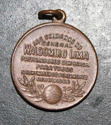 revolução 32 - medalha waldomiro lima - módulo menor