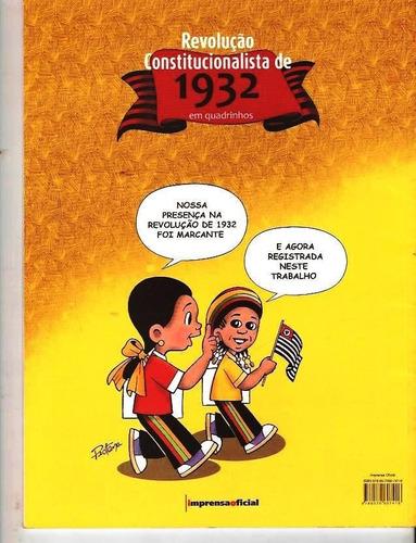 revolução constitucionalista de 32 em quadrinhos