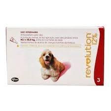 revolution 120 mg cães de 10 a 20 kg - caixa com 3 pipetas