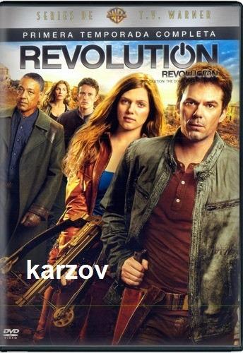 revolution temporada 1 uno primera dvd