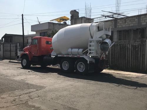 revolvedora de concreto camion
