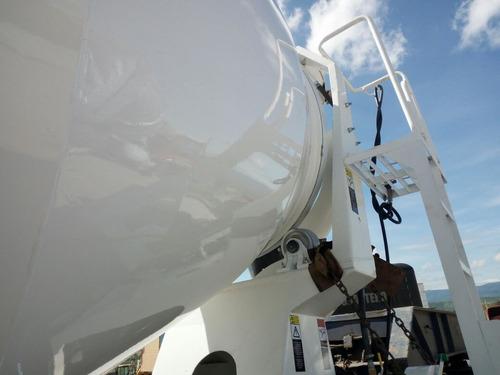 revolvedora fija, btr-800f usos múltiples de mezclas , 8 m3