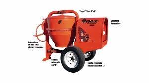 revolvedora para concreto un saco  honda de 13 hp