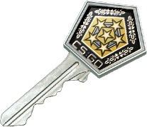 revolver case key - llave de caja revolver - cs go
