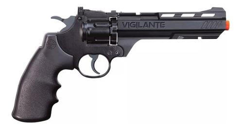 revólver co2 crosman vigilante 4,5mm + acessórios - 701  708