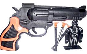 Juguete Dardos2 Cartuchera De Lanza Ventosas Revolver uc3l51JKTF