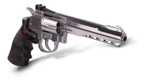 revolver sr357 crosman cromado fullmetal enviogratis+regalos