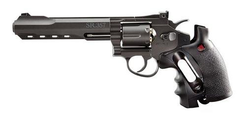 revolver sr357 crosman negro  fullmetal enviogratis+regalos