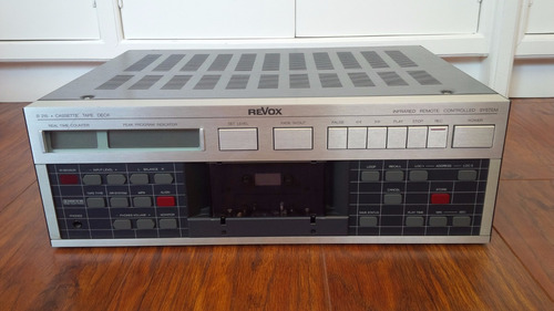 revox b215  tape deck funcionando perfeitamente
